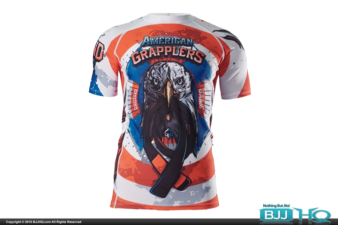 Ground Game American Grapplers Rashguard